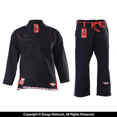 Grab and Pull Grab and Pull Premium Black BJJ Gi 2.0